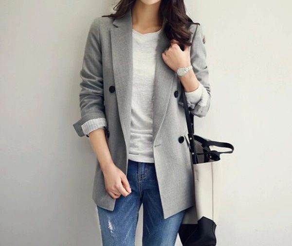 Easy Matching Fitted Business Coats Cardigan