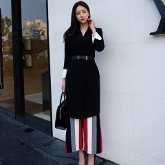 New Fashion Solid OL Blazers Cardigan Coats With Belt