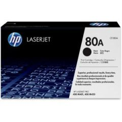 HP 80A BLACK LASERJET TONER CARTRIDGE CF280A