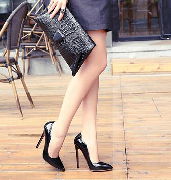 Classic Design Womenly Solid Color Pointed-toe High Heel Career Pumps