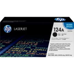 HP 124A BLACK LASERJET TONER CARTRIDGE Q6000A