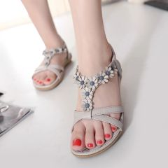 Summer Ankle Strap Causal Sweet Sandal