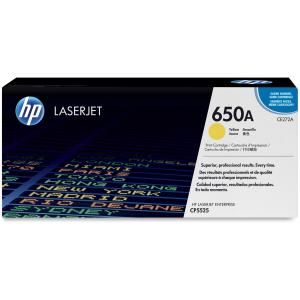 HP 650A YELLOW LASERJET TONER CARTRIDGE CE272A