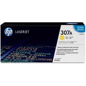 HP 307A YELLOW LASERJET TONER CARTRIDGE CE742A