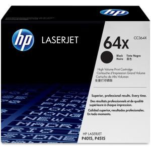 HP 64X BLACK HIGH YIELD LASERJET TONER CARTRIDGE CC364X
