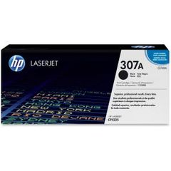 HP 307A BLACK LASERJET TONER CARTRIDGE CE740A
