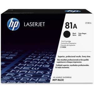 HP 81A BLACK LASERJET TONER CARTRIDGE CF281A