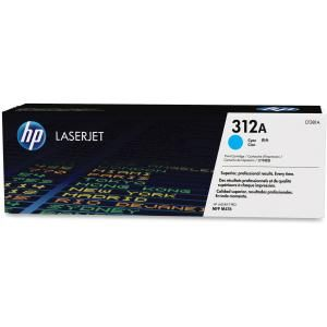 HP 312A CYAN LASERJET TONER CARTRIDGE CF381A