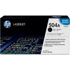 HP 504A BLACK LASERJET TONER CARTRIDGE CE250A