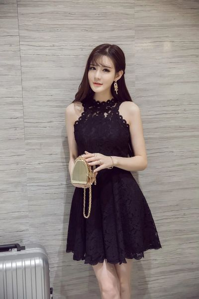 Summer Fashionable Lace Lady Sun Dress
