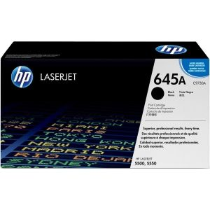 HP 645A BLACK LASERJET TONER CARTRIDGE C9730A