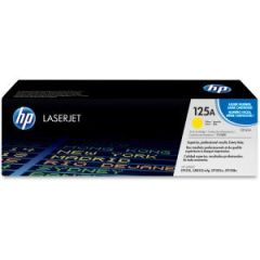 HP 125A YELLOW LASERJET TONER CARTRIDGE CB542A