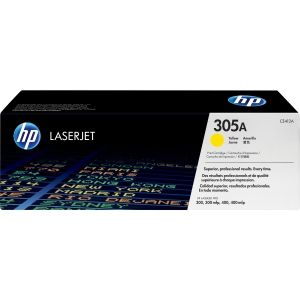 HP 305A YELLOW LASERJET TONER CARTRIDGE CE412A