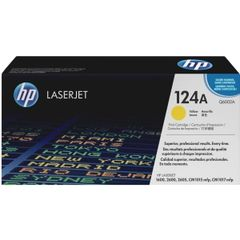 HP 124A YELLOW LASERJET TONER CARTRIDGE Q6002A