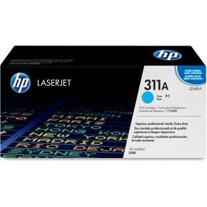 HP 311A CYAN LASERJET TONER CARTRIDGE Q2681A