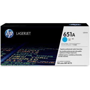 HP 651A CYAN LASERJET TONER CARTRIDGE CE341A