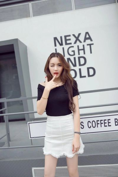 Pullover Shirts With Tight Skirt Women Suits