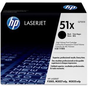 HP 51X BLACK HIGH YIELD LASERJET TONER CARTRIDGE Q7551X