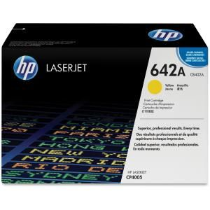 HP 642A YELLOW LASERJET TONER CARTRIDGE CB402A