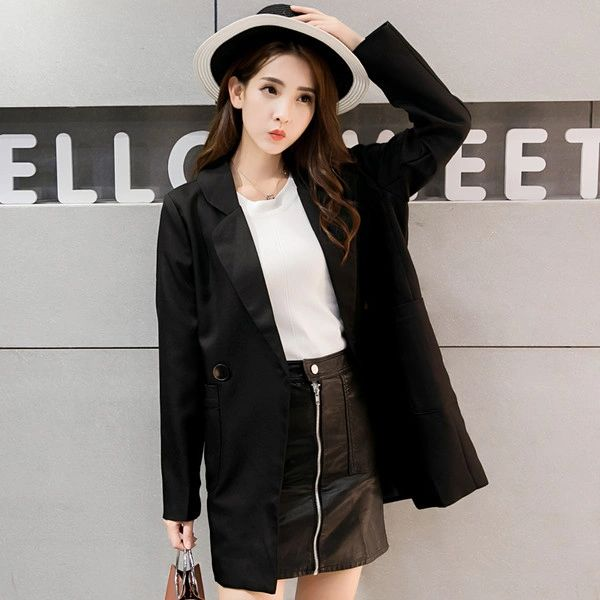 Wholesale Easy Matching Loose Trench Coat Blazers