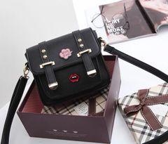 Cheap Stamp Pattern One Shoulder Bag