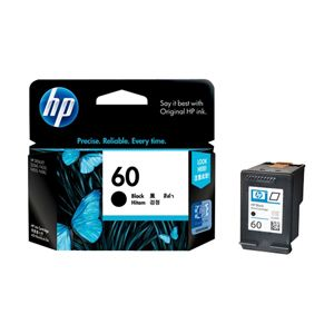 HP 60 BLACK INK CARTRIDGE CC640WA