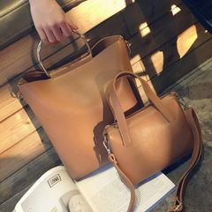 Cheap Korean Simple Two Pieces Bags