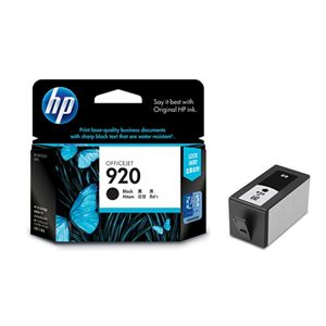 HP 920 BLACK INK CARTRIDGE CD971AA