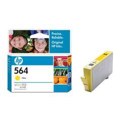 HP 564 YELLOW INK CARTRIDGE CB320WA