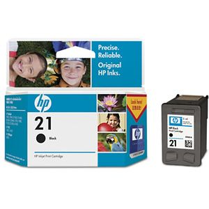 HP 21 BLACK INK CARTRIDGE SD387AA