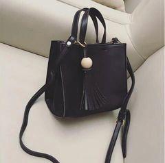 Korean OL Style Fringe Women Shoulder Bag
