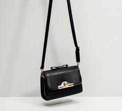 Korean Sweet Bow Hasp Square Shoulder Bags