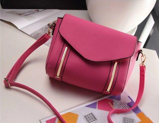 Korean Fashion Zipper Street Shoulder Bag