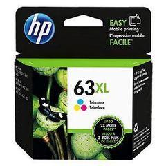 HP 63XL TRI-COLOR INK CARTRIDGE F6U63AA