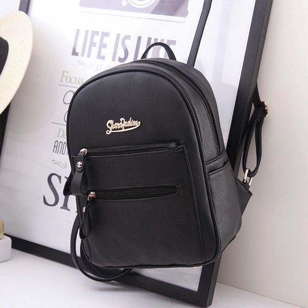 Low Prices Letter Prints Simple Backpack