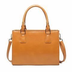 OL Style Zipper Women Handle Bag