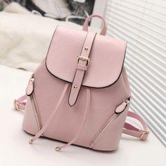 College Style Fashion PU Backpacks