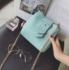 Vintage Solid Pu Shoulder Bag Online
