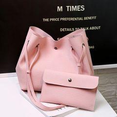 Korean Design Two Bucket Pieces Bags