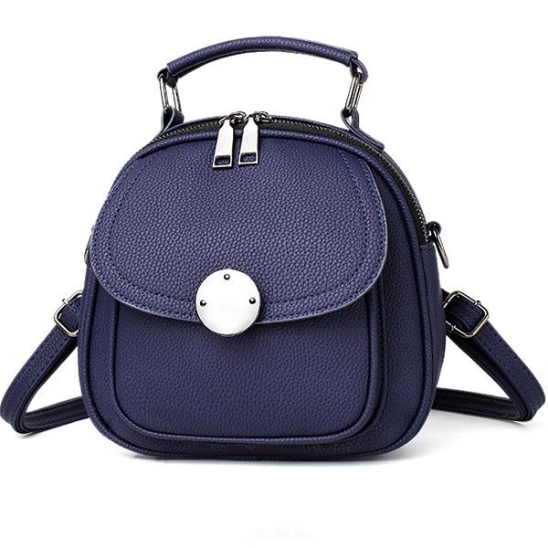 Solid Simple Design Double Shoulder Bags(3-4Days Delivery)