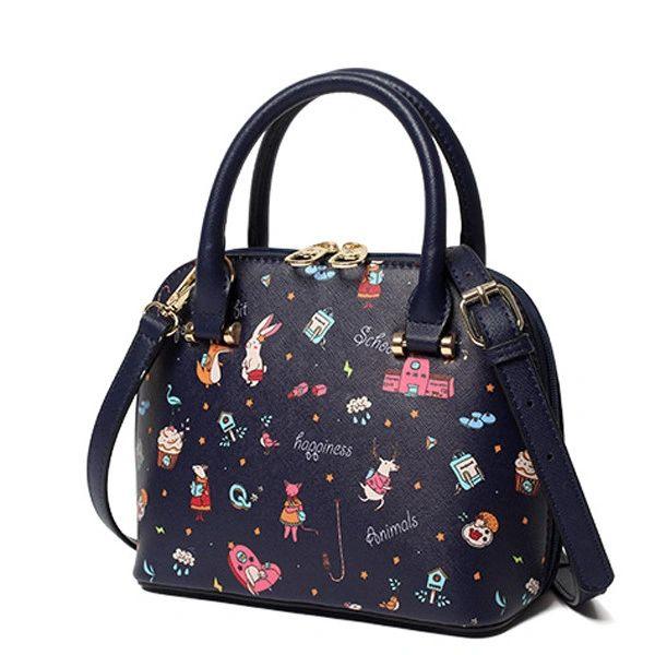 Cartoon Pattern Shells Sweet Shoulder Bags