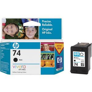 HP 74 BLACK INK CARTRIDGE CB335WA