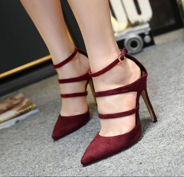 Euro Style Pointed Toe High Heel Pumps Shoes