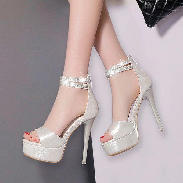 Stiletto Women Platform Sandals