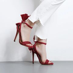 Bow High Heels Sandals For Girls