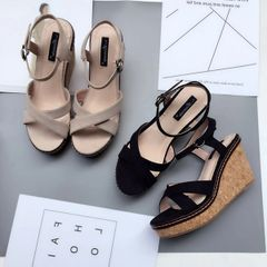 Casual Platform Wedge Sandals