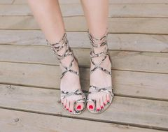 Euro Low Heel Sandals For Women