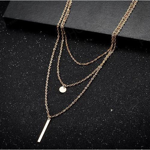 All Match Gold Alloy Necklaces