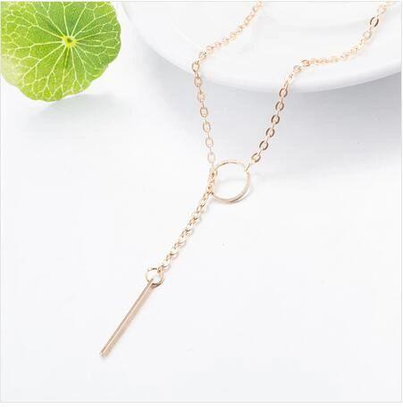 Adjustable Noble Alloy Zinc Chain Necklaces