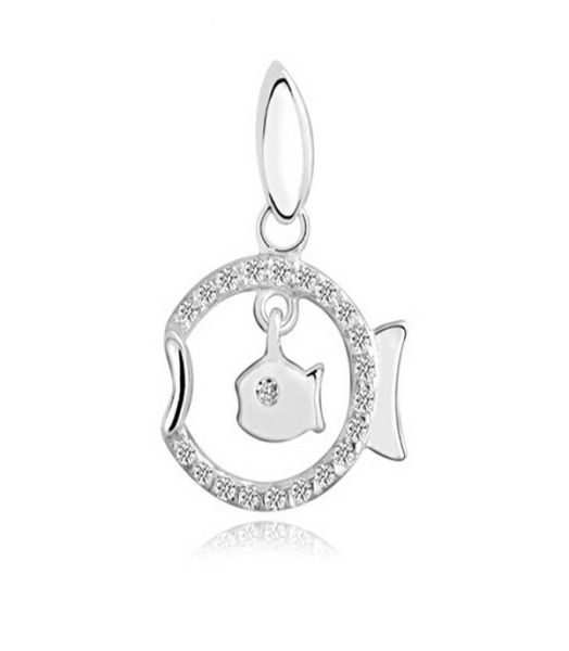 New Design Fish Hollow Out Pendant